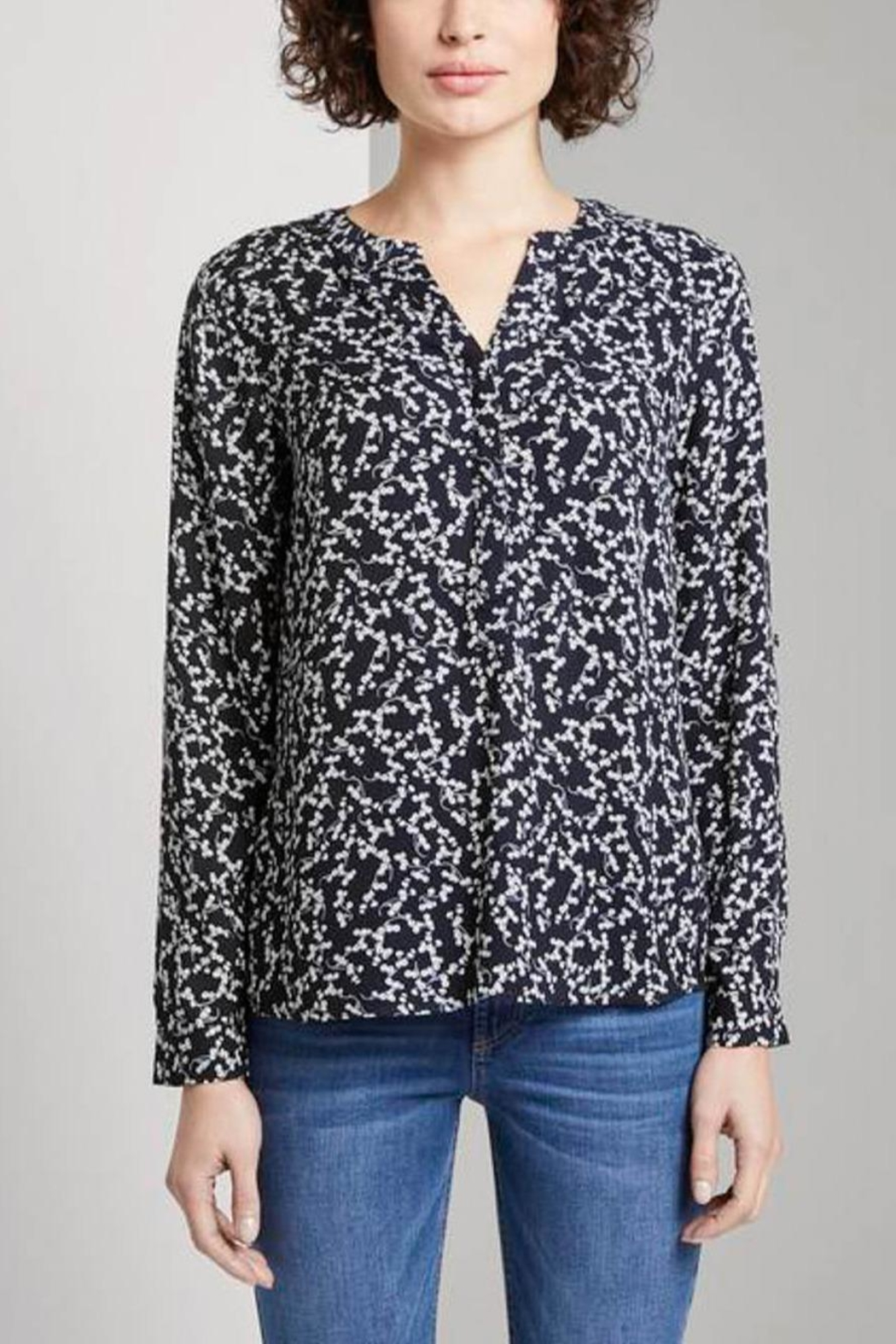Tom Tailor Blouse With Flower Pattern - Main Image