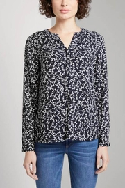 Tom Tailor Blouse With Flower Pattern - Front cropped