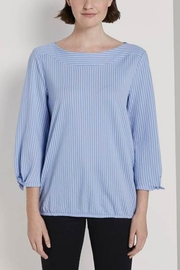 Tom Tailor Boat Neck Striped Blouse - Product Mini Image