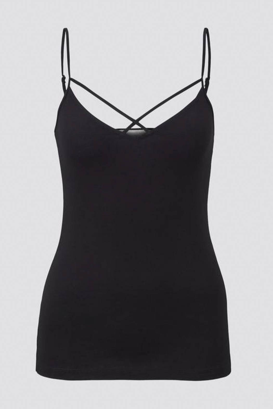 Tom Tailor Cami With Spaghetti Straps - Side Cropped Image