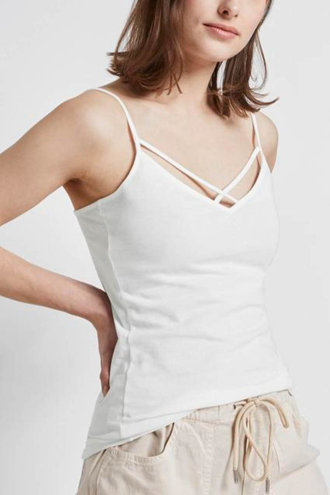 Tom Tailor Cami With Spaghetti Straps - Front Cropped Image
