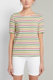Tom Tailor Colorful T-Shirt With Stripes - Product Mini Image