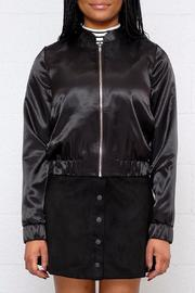 Tom Tailor Cropped Satin Bomber - Product Mini Image