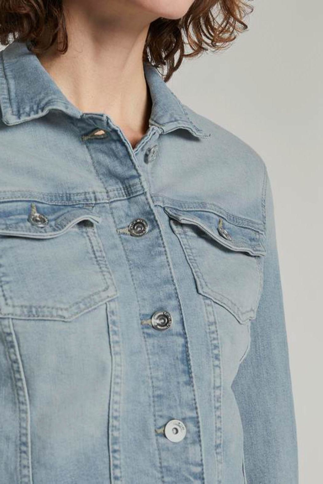 Tom Tailor Denim Jacket - Back Cropped Image