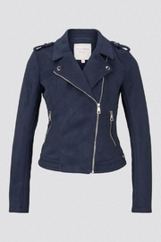 Tom Tailor Faux Suede Biker Jacket - Product Mini Image