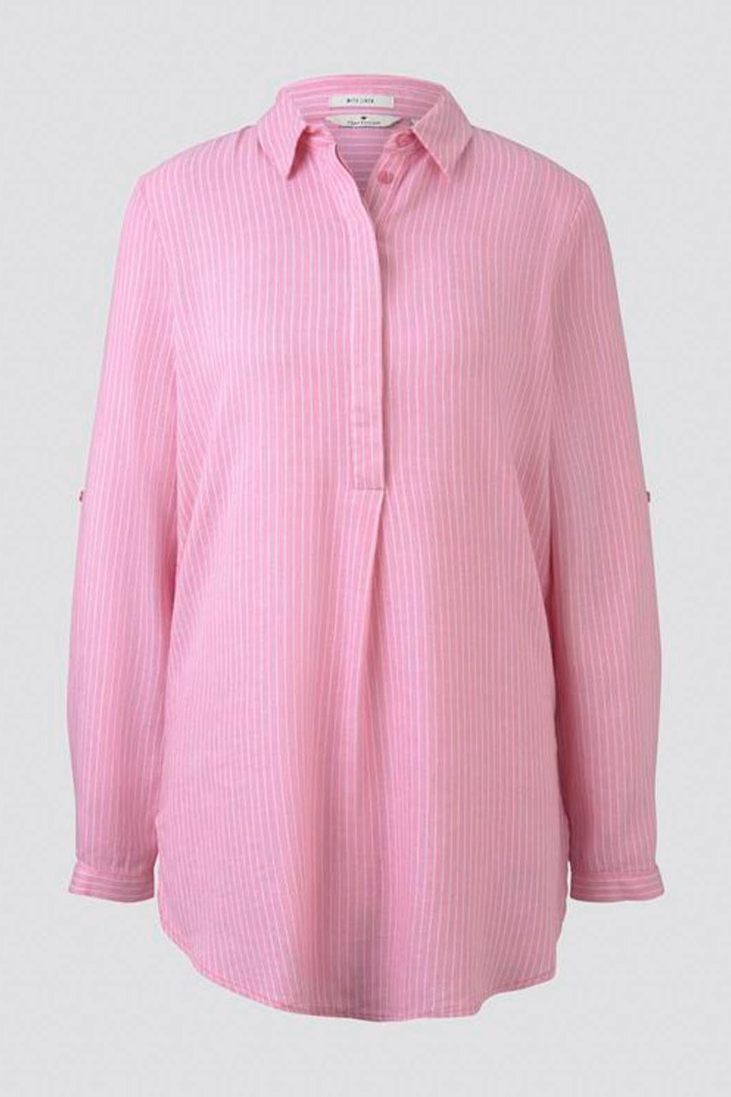 Tom Tailor Long Blouse - Side Cropped Image