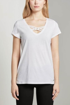 Shoptiques Product: Organic T-Shirt With Lacing