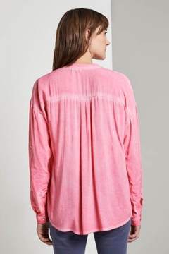 Shoptiques Product: Shirt Blouse With Chest Pockets