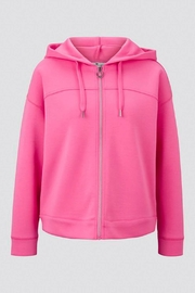 Tom Tailor Sweater Jacket With A Hood - Product Mini Image
