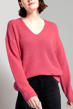 Shoptiques Product: Sweater With A V-Neckline