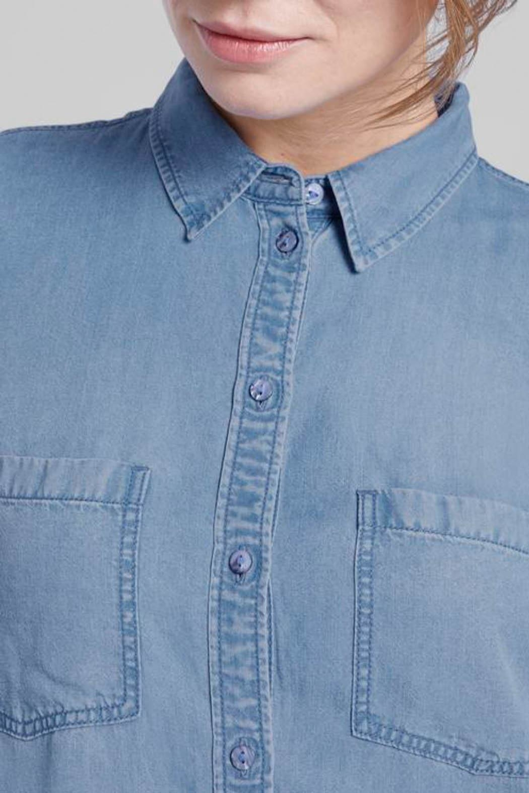 Tom Tailor Tencel Blouse - Side Cropped Image