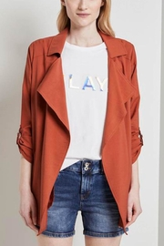 Tom Tailor Textured Trench Blazer - Product Mini Image