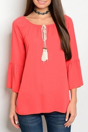 Lime n Chili Tomato Red Blouse - Product Mini Image