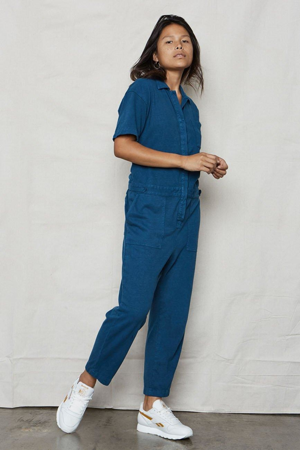 Back Beat Rags Tomboy Jumpsuit - Main Image
