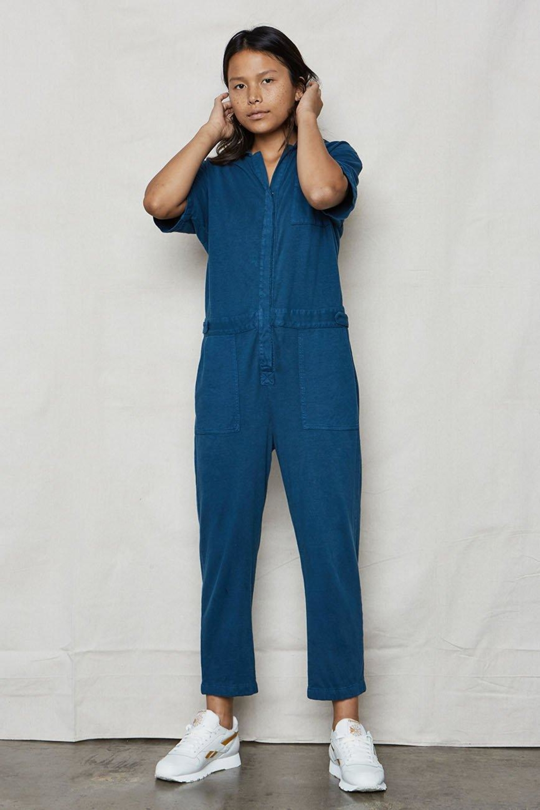 Back Beat Rags Tomboy Jumpsuit - Front Full Image
