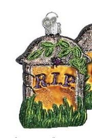 Old World Christmas Tombstone R.I.P. Ornament - Product Mini Image