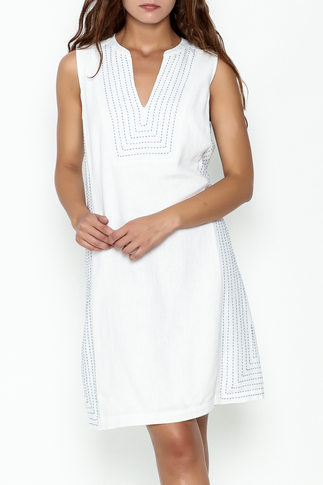 Tommy Bahama Daphine Shift Dress - Front Cropped Image