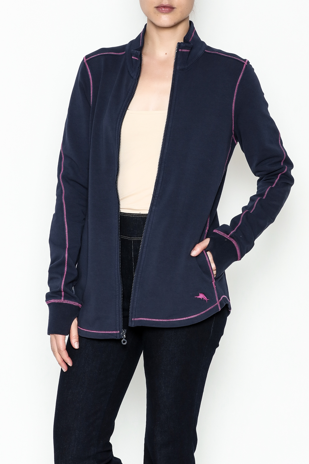 Tommy Bahama Jen And Terry Jacket - Front Cropped Image