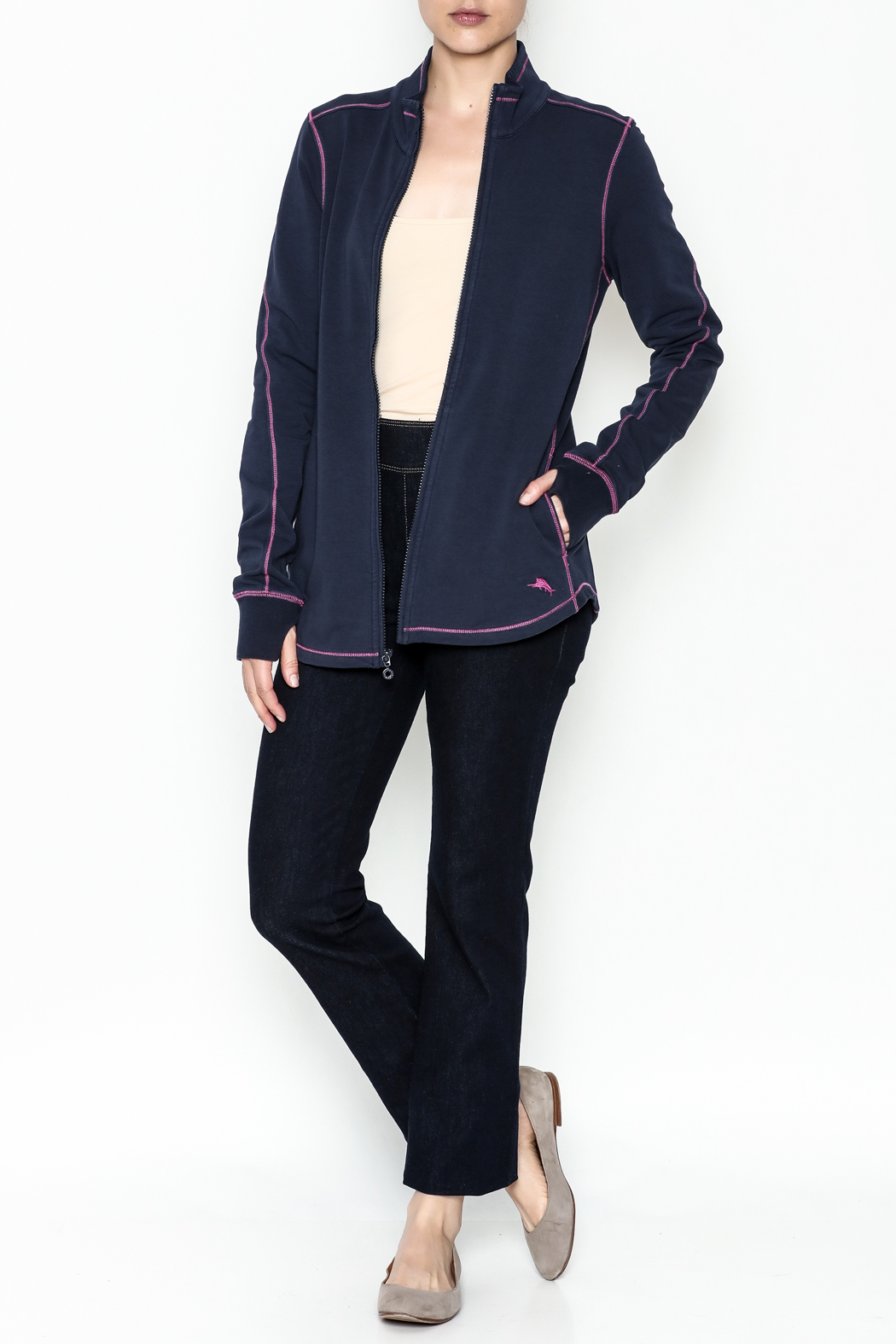 Tommy Bahama Jen And Terry Jacket - Side Cropped Image