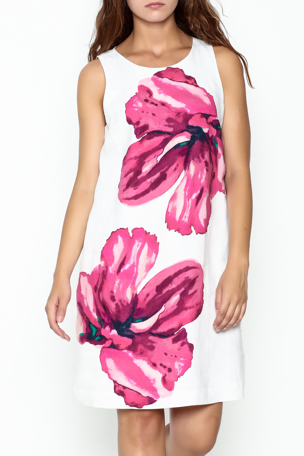 Tommy Bahama Kavala Blossom Dress - Front Cropped Image