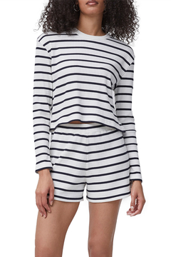 French Connection Tommy Rib Long Sleeve Top - Product List Image