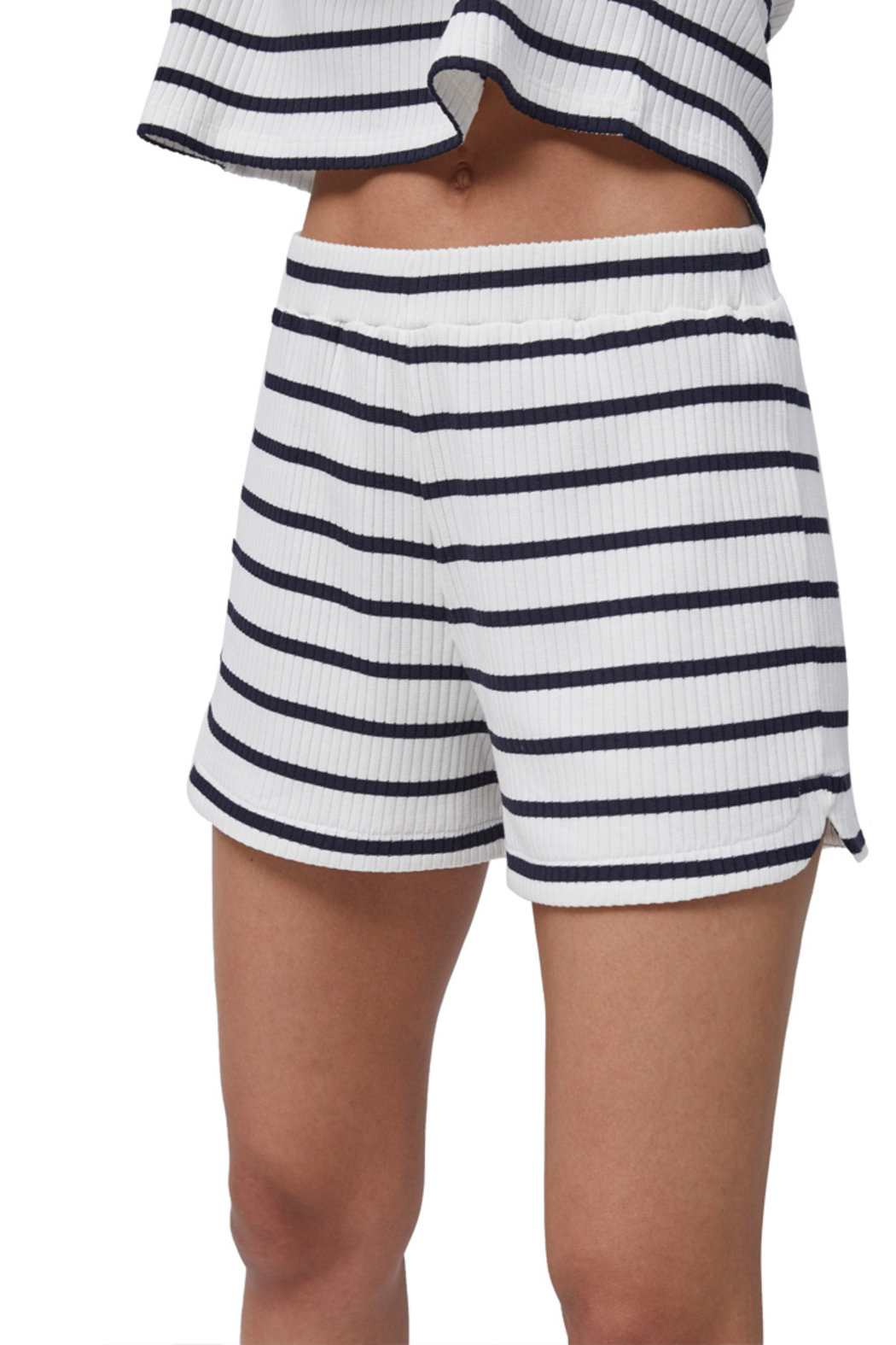 French Connection Tommy Rib Stripe Shorts - Main Image