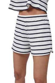 French Connection Tommy Rib Stripe Shorts - Product Mini Image