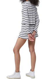 French Connection Tommy Rib Stripe Shorts - Front full body
