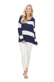 Mud Pie  Tommy Striped Sweater - Product Mini Image