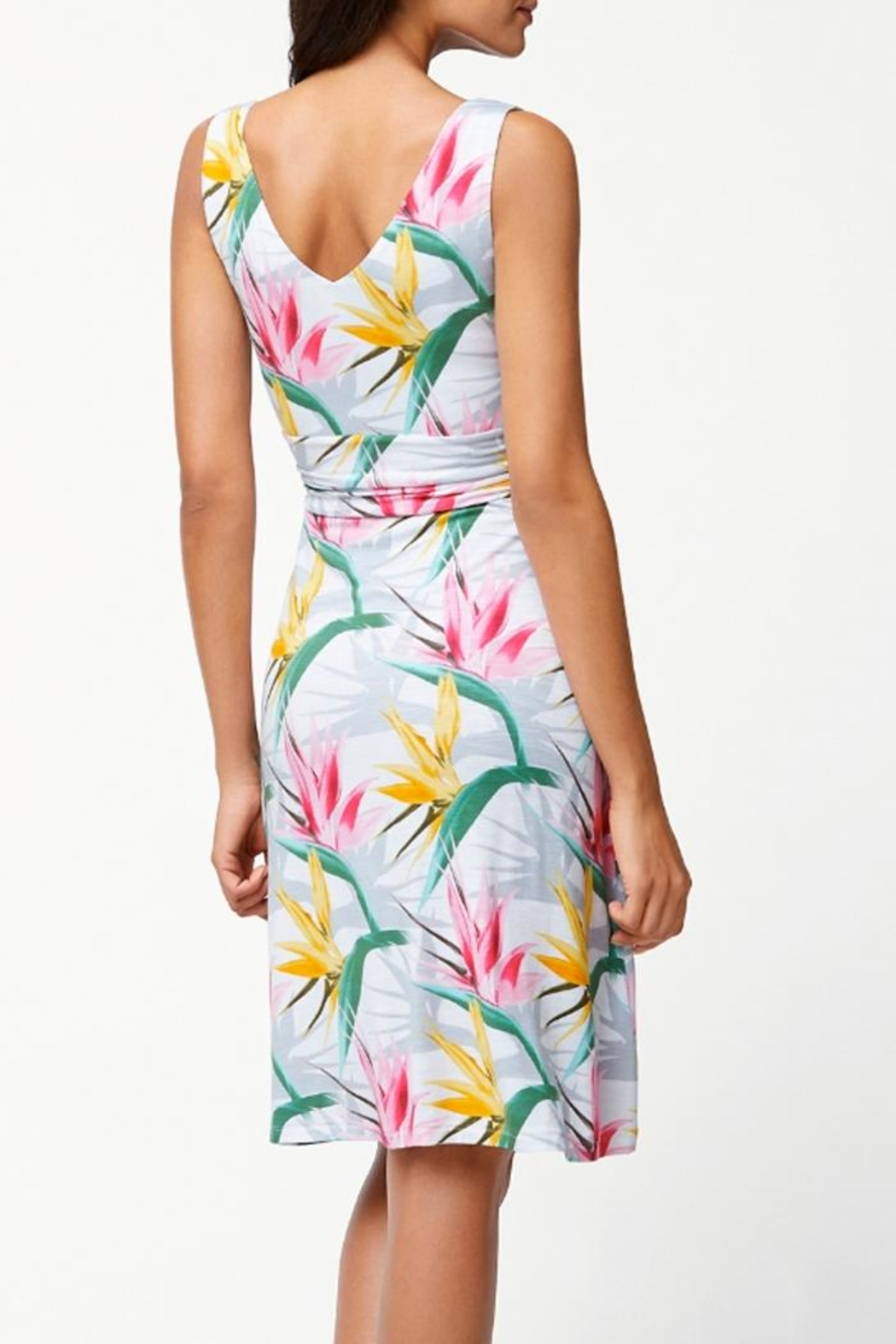 Tommy Bahama Paradise Sleeveless Dress - Front Full Image