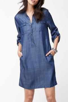 Shoptiques Product: Chambray All Day Shirt Dress