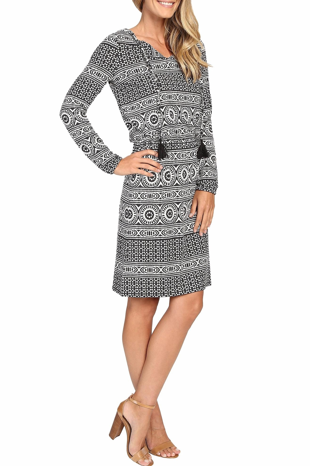 Tommy Bahama Geo Relief Short Dress - Front Full Image