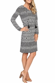 Tommy Bahama Geo Relief Short Dress - Front full body