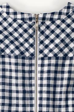 Tommy Bahama Gingham Linen Dress - Alternate List Image