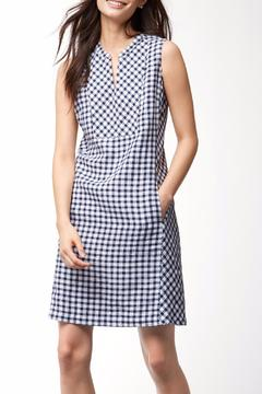Tommy Bahama Gingham Linen Dress - Product List Image