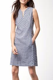 Tommy Bahama Gingham Linen Dress - Product Mini Image