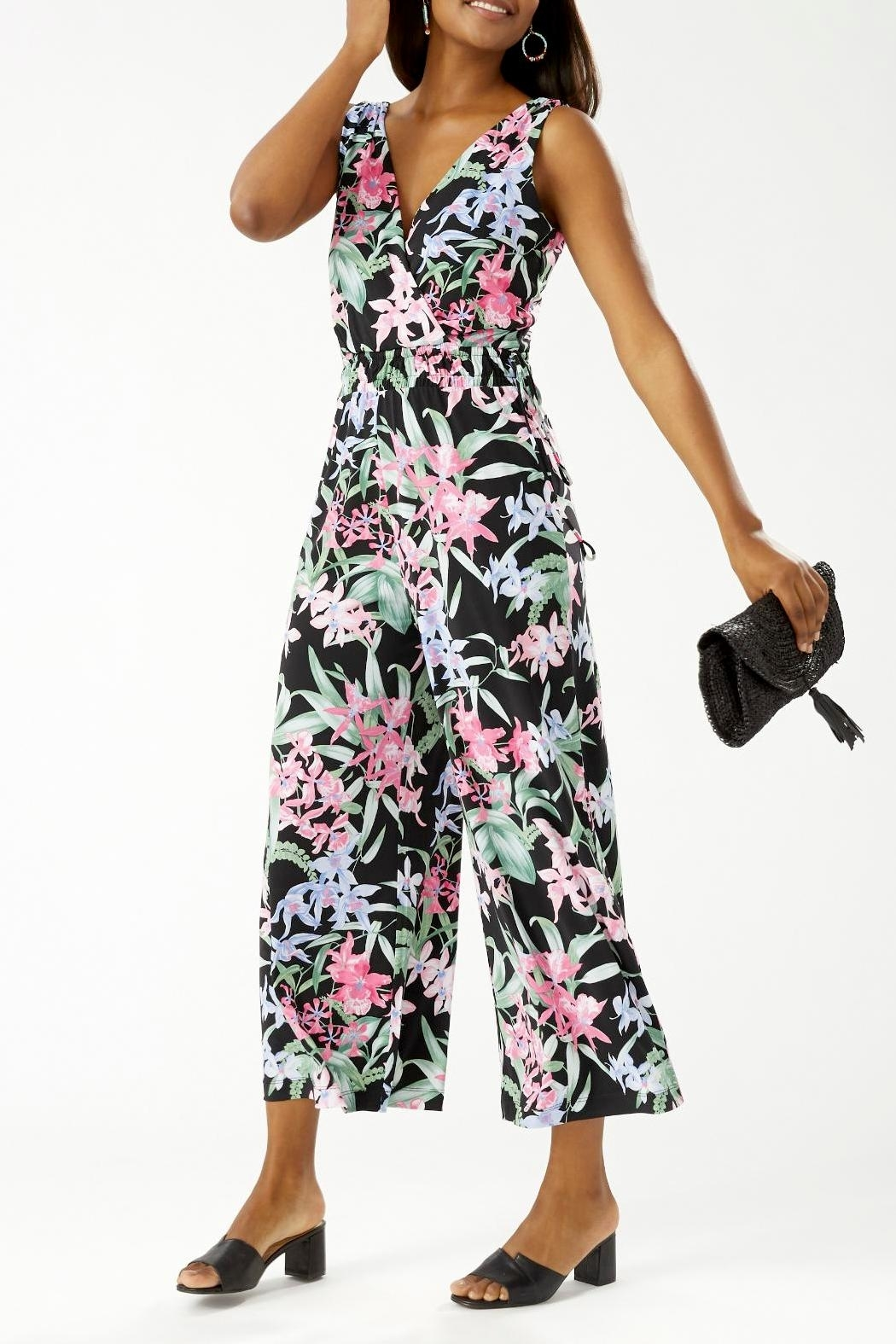 Tommy Bahama Orchid Isle Jumpsuit - Side Cropped Image