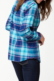 Tommy Bahama Plaid Shirt - Front full body