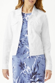 Tommy Bahama Two-Palms Raw-Edge-Linen Jacket - Product Mini Image