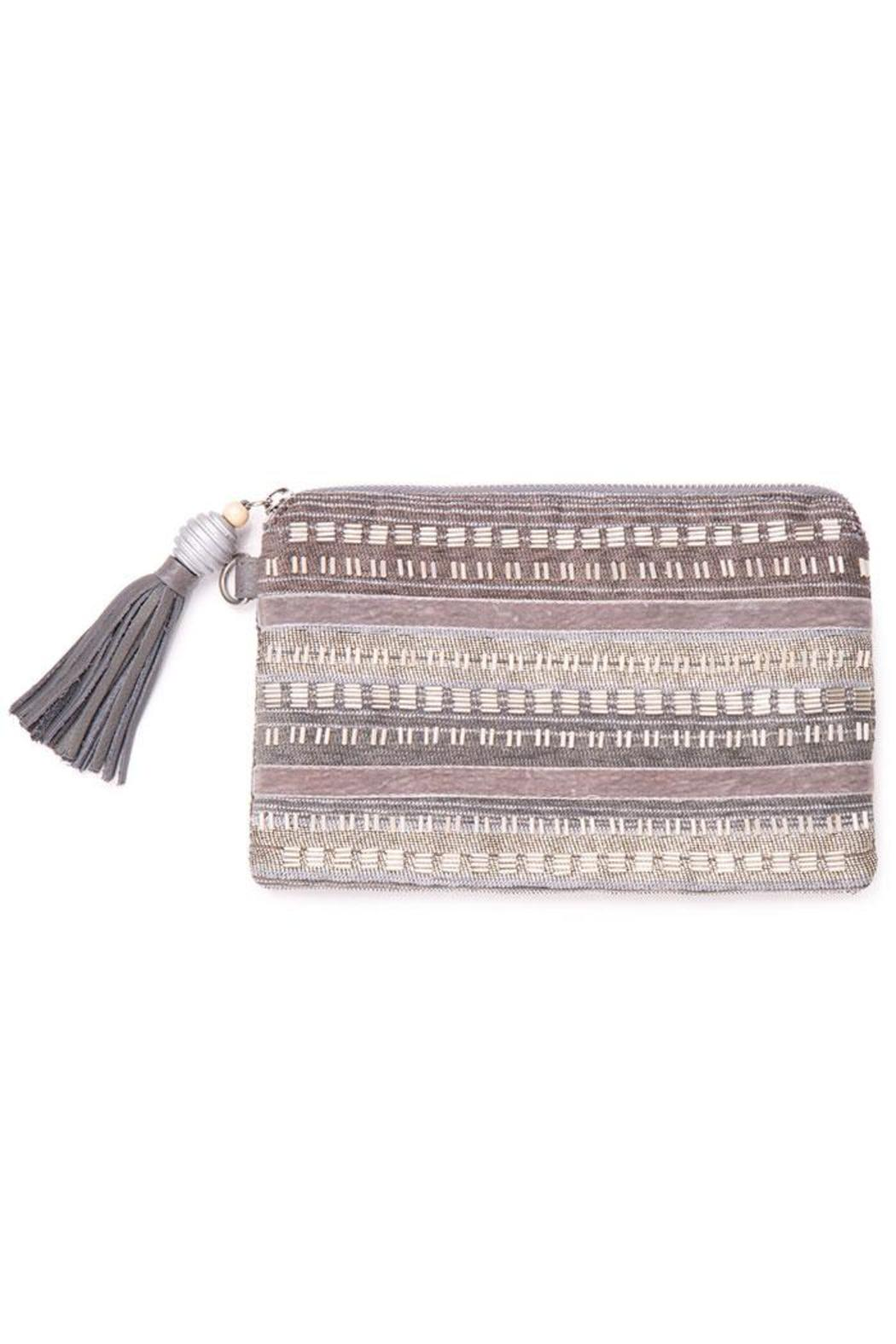 TOMS Beaded Party Pouch - Front Cropped Image