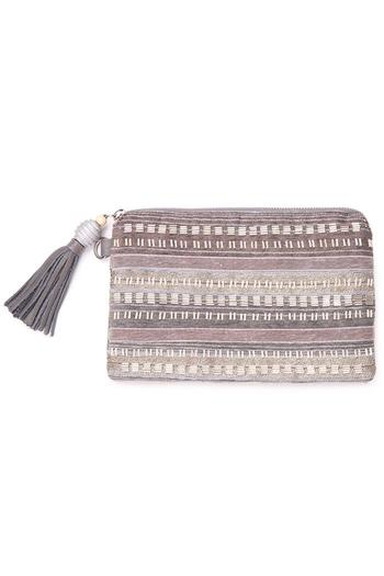 Shoptiques Product: Beaded Party Pouch - main