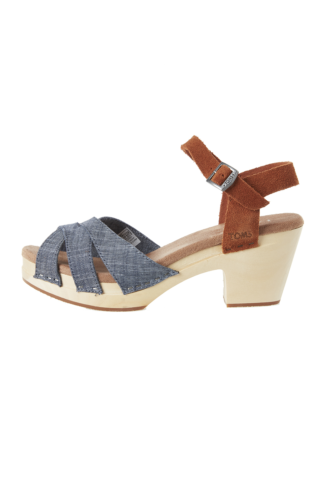 TOMS Beatrix Clog - Front Cropped Image