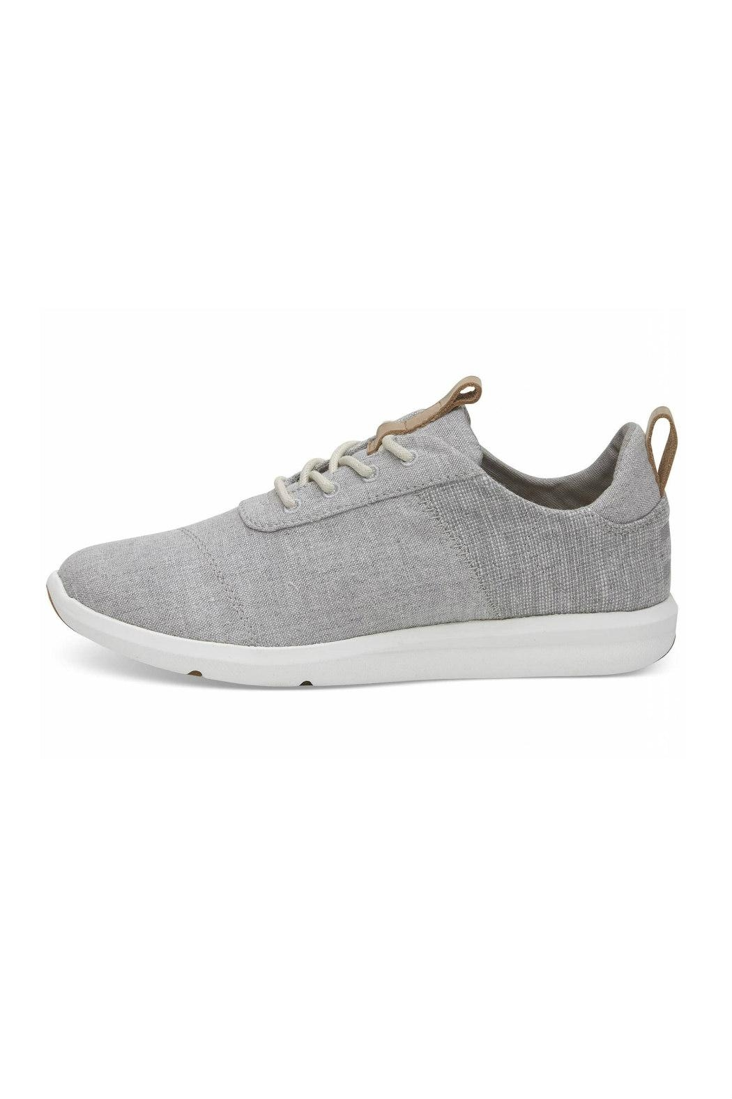 TOMS Cabrillo Chambray Sneaker - Front Cropped Image