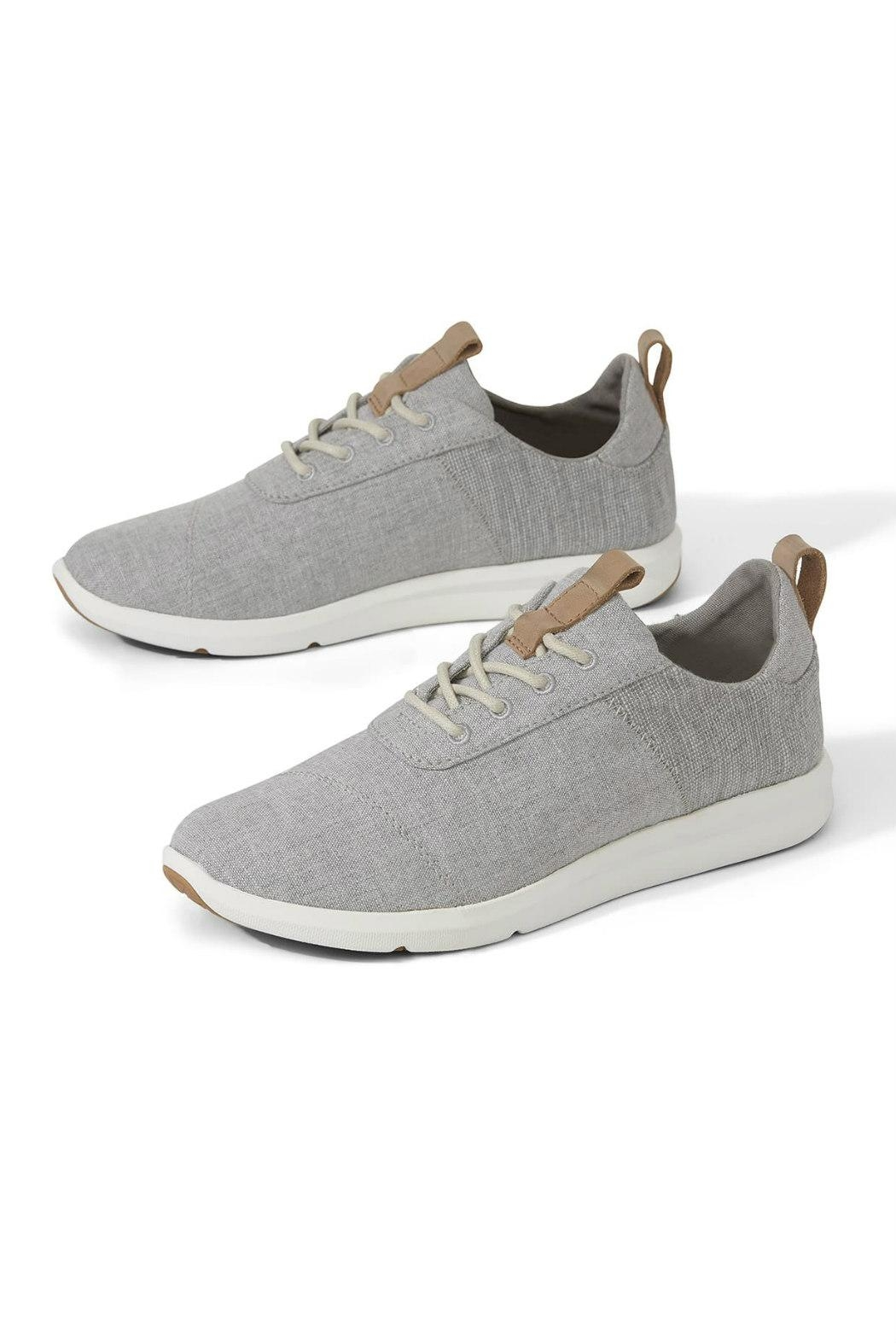 TOMS Cabrillo Chambray Sneaker - Front Full Image