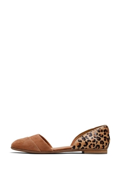 TOMS Cheetah Julie Flats - Product List Image