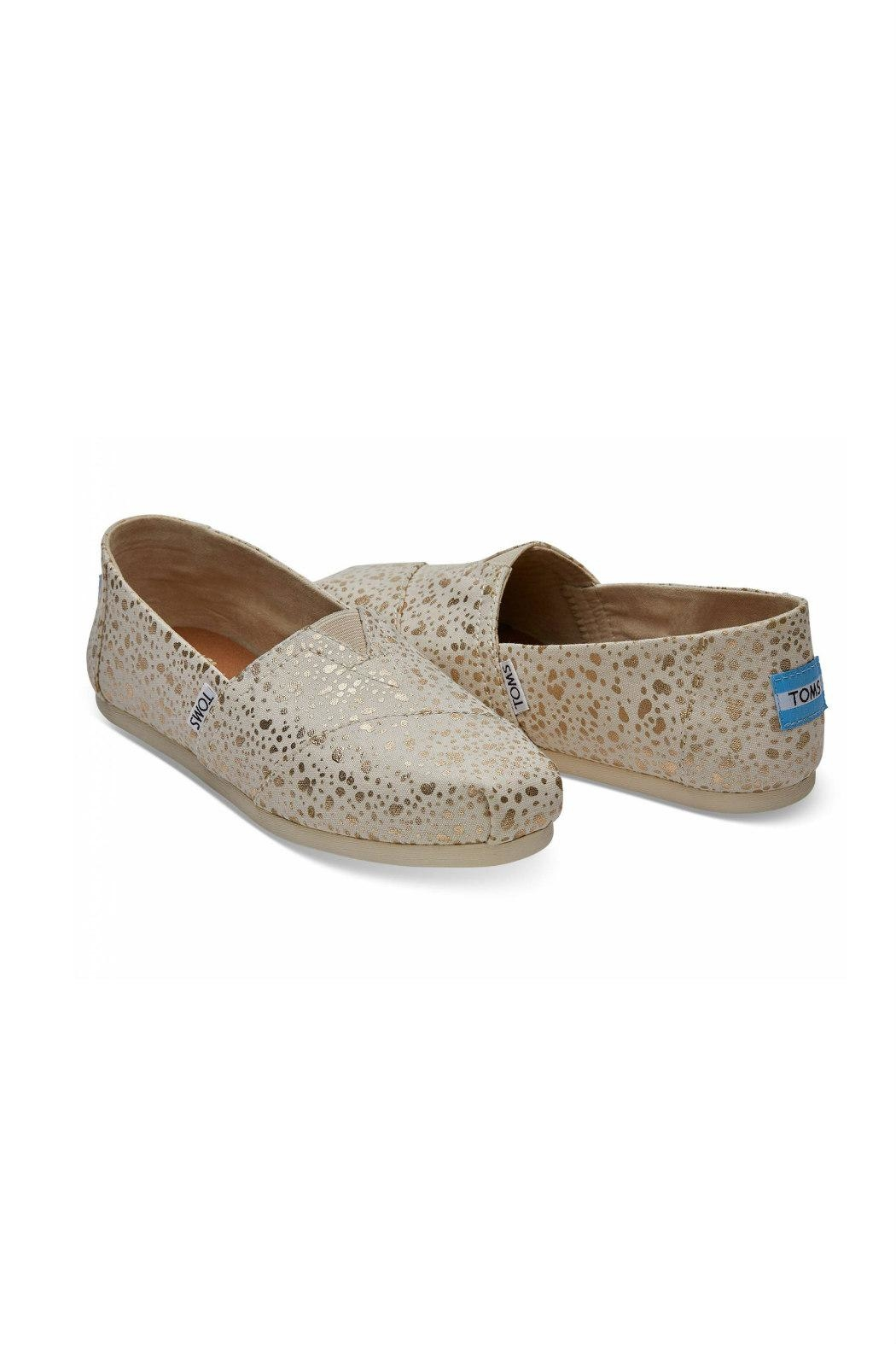 TOMS Classic Alpergata Shoes - Front Full Image