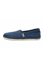 TOMS Blue Canvas Alpergata Shoes - Product Mini Image