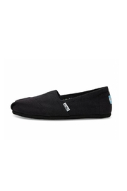 TOMS Black Canvas Alpergata Shoes - Product Mini Image