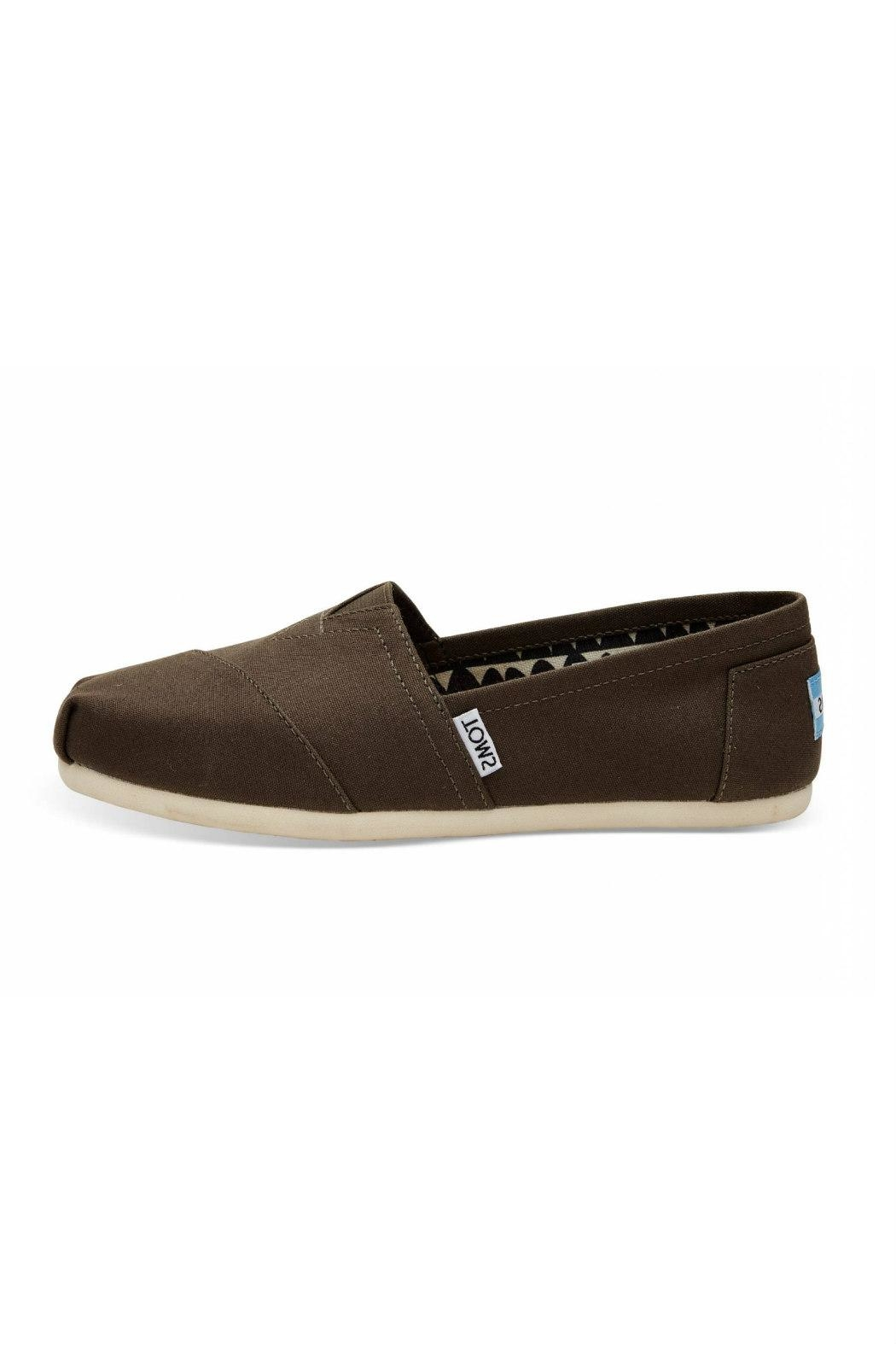 TOMS Classic Canvas Alpergata Shoes - Front Cropped Image