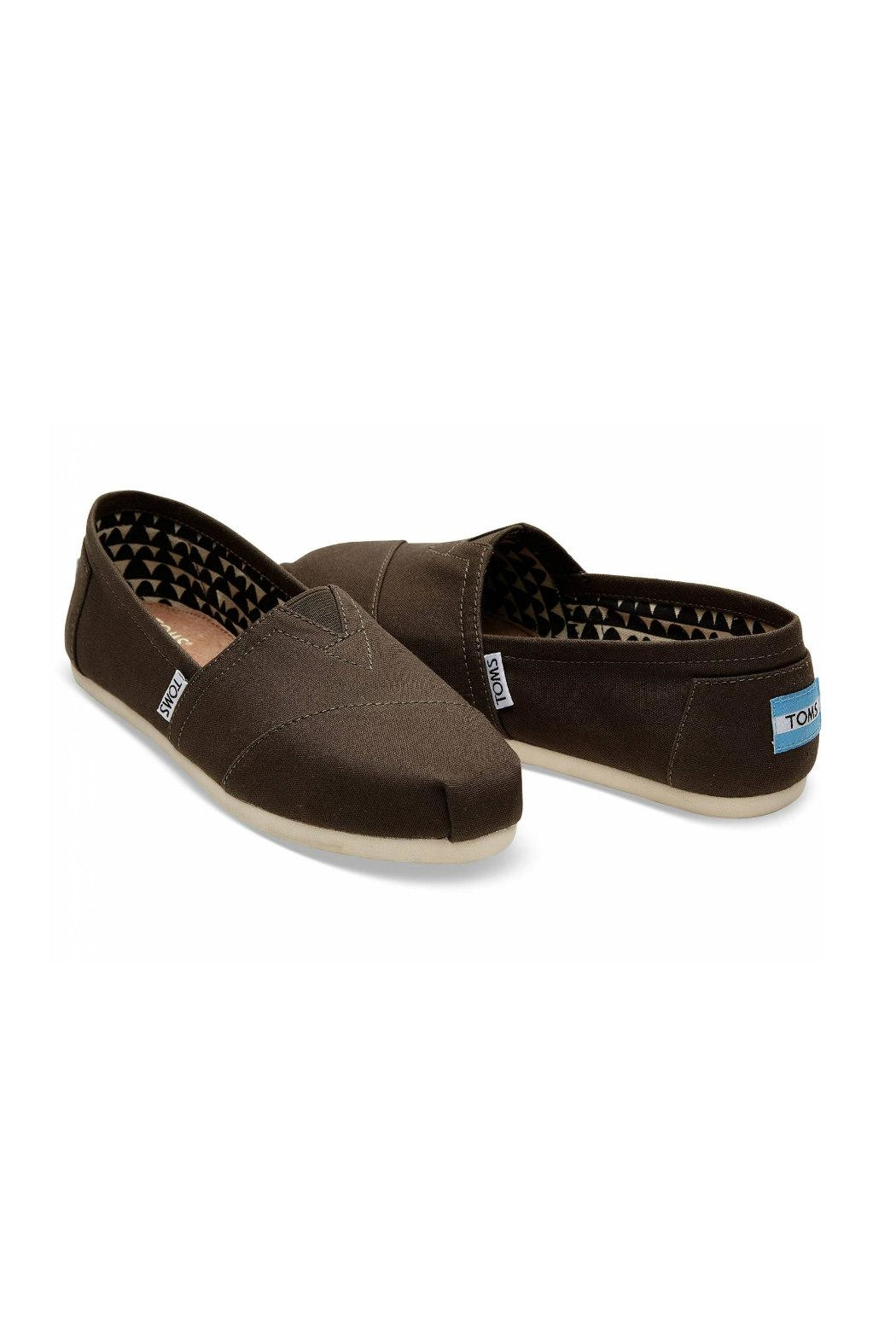 TOMS Classic Canvas Alpergata Shoes - Front Full Image